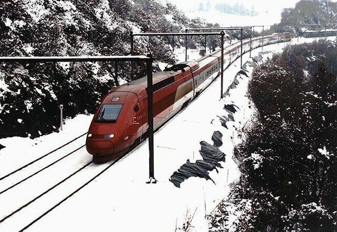 Ski Thalys - Wintersporttrein Frankrijk