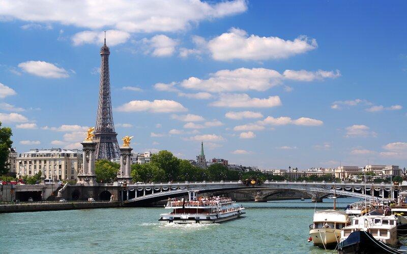 Trein naar Parijs - Seine