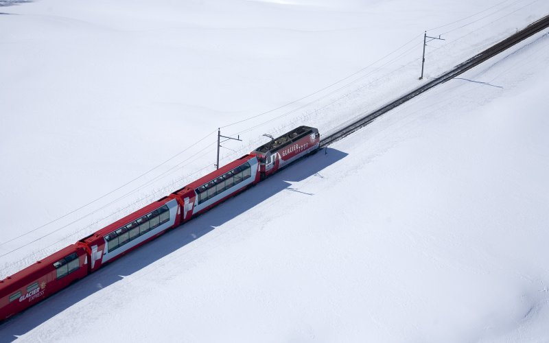 SBB / CFF / FFS - Trains in Switzerland - Glacier Express