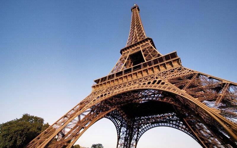 Trein naar Parijs - Eiffeltoren