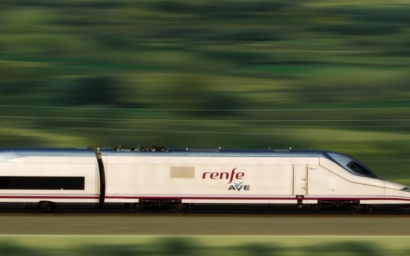 Trein [from] naar [to] - Renfe / Spanje - AVE