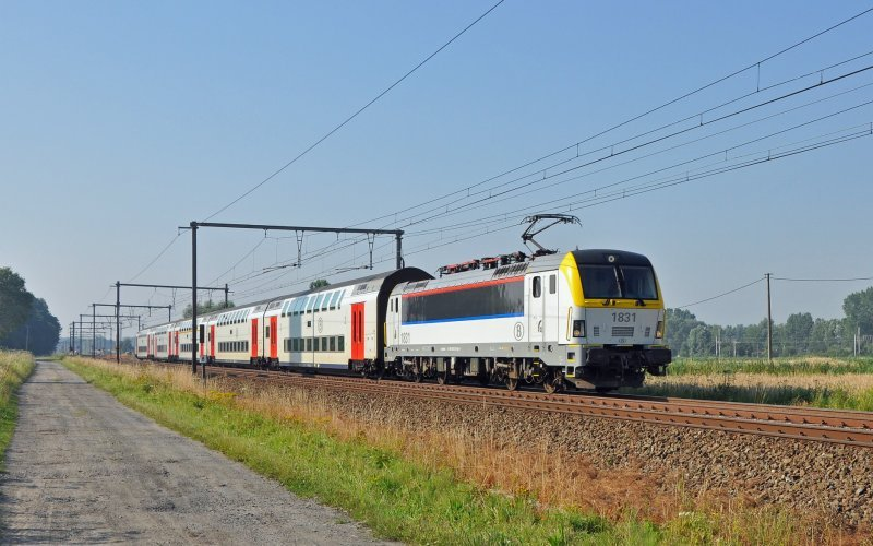 Trains [from] to [to] - SNCB / NMBS - Trains in Belgium - Intercity exterior
