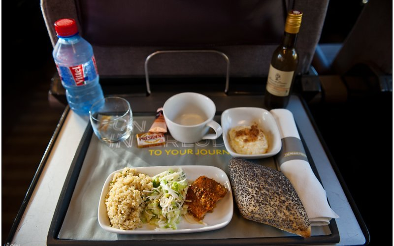 Trains Amsterdam C to London - Eurostar food on-board / first class / premier class / business class