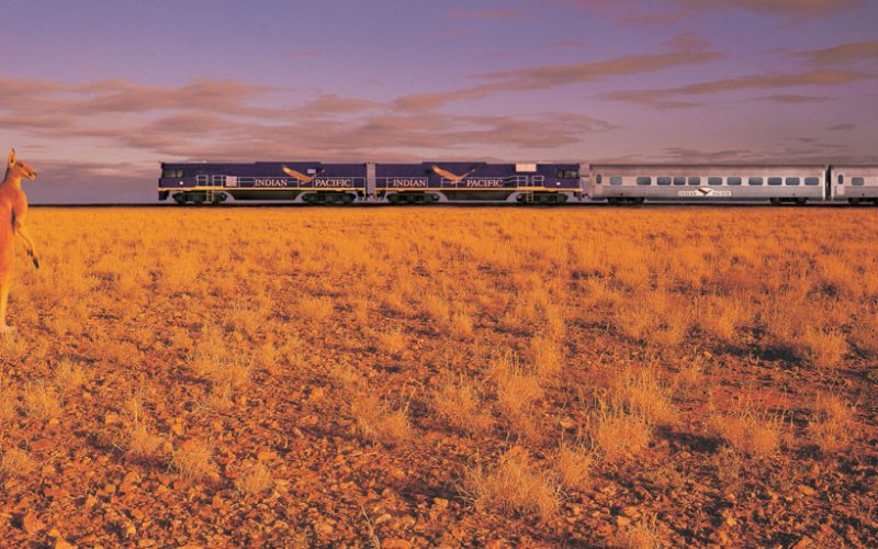 Travel on the Indian Pacific - All train tickets and rail passes