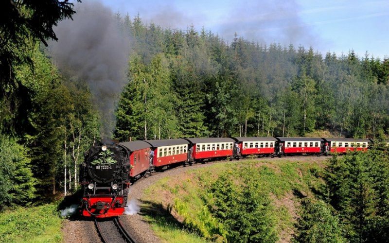Harz Steam Trains - All train tickets and rail passes