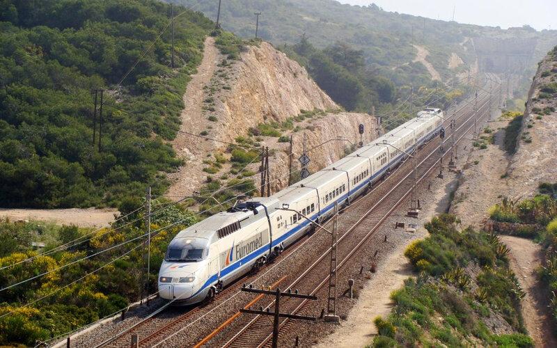 Euromed | Treinen in Spanje | Euromed op weg naar Valencia