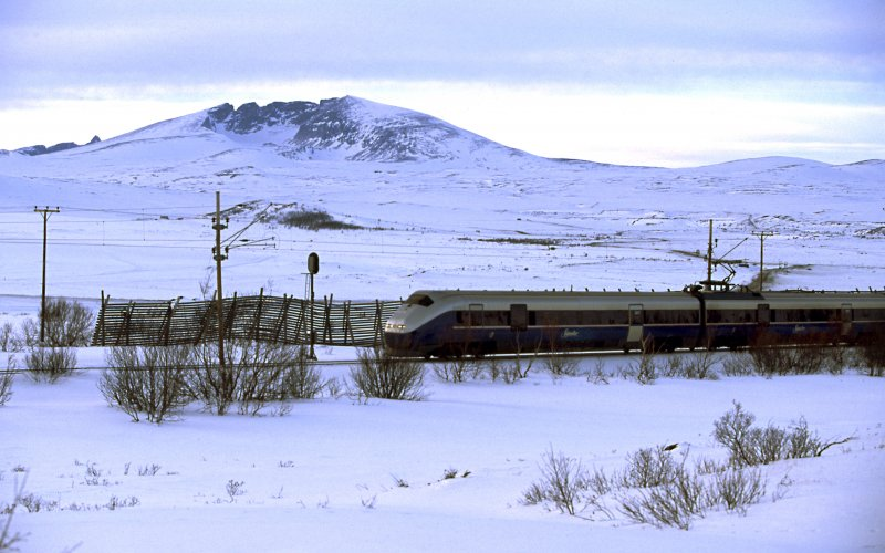 Rail Journeys in Europe - Norway