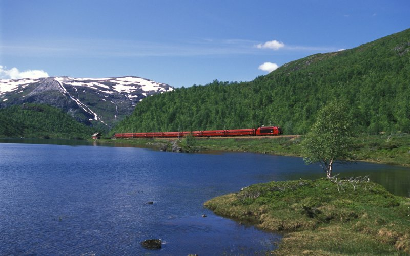 Trains Bergen to Oslo - Train Tickets Norway,NSB - Bergen Railway / Bergensbanen