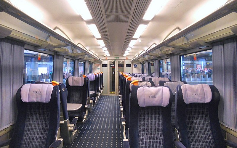South Western Railway - First Class - Photo by Peter Skuce