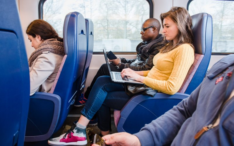 InterCity The Netherlands | Trains in The Netherlands | 2nd class interior