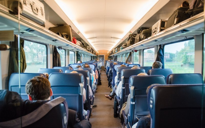 Trains Amsterdam to Berlin - Intercity 2nd class