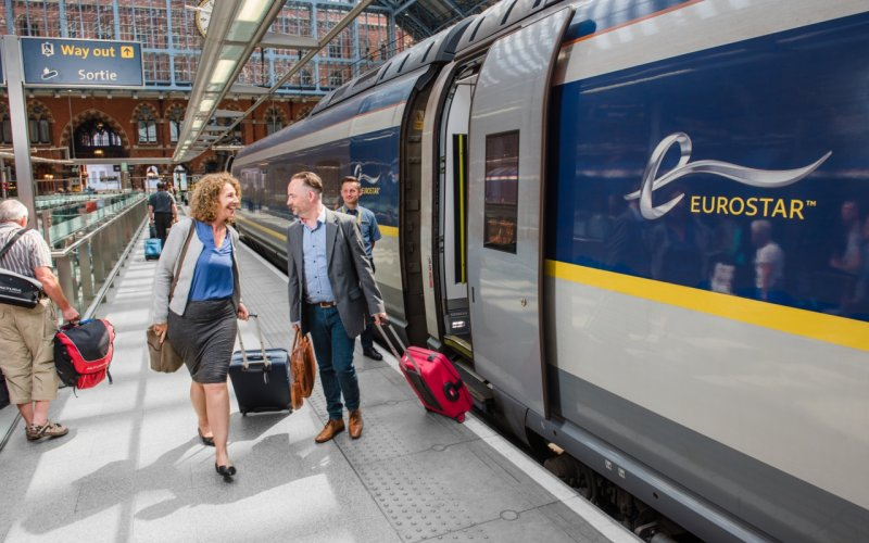 Trains to & from Amsterdam - Eurostar Amsterdam to London