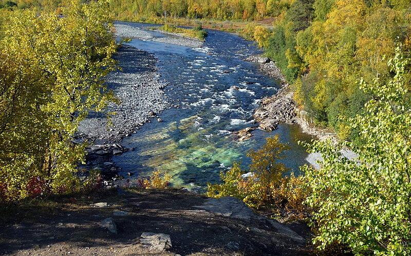 Trains to & from Abisko   Abisko National Park in Sweden