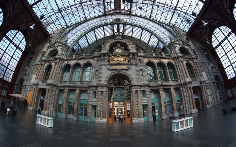 InterRegio Belgium | Trains in Belgium | Antwerpen central station Antwerpen Centraal