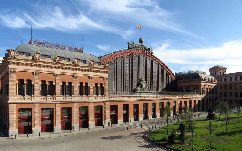 Arrive at Madrid Puerta de Atocha - All train tickets and rail passes