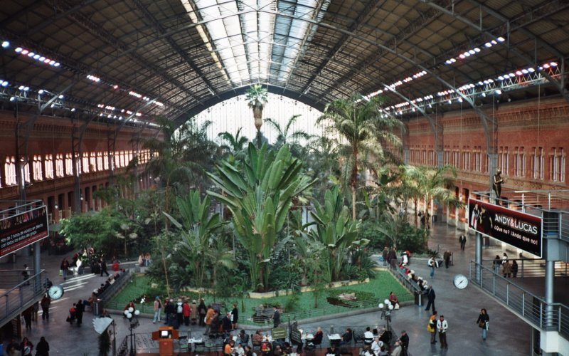 Madrid Atocha - Train Station Madrid