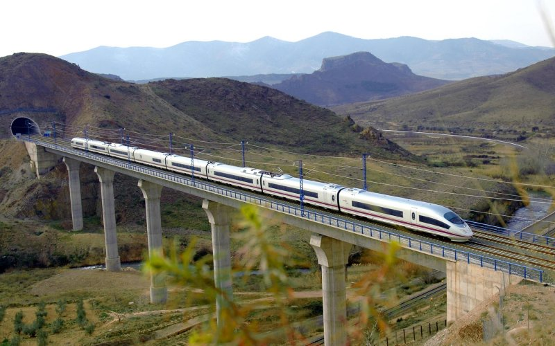 AVE | Trains in Spain | High speed train of Spain