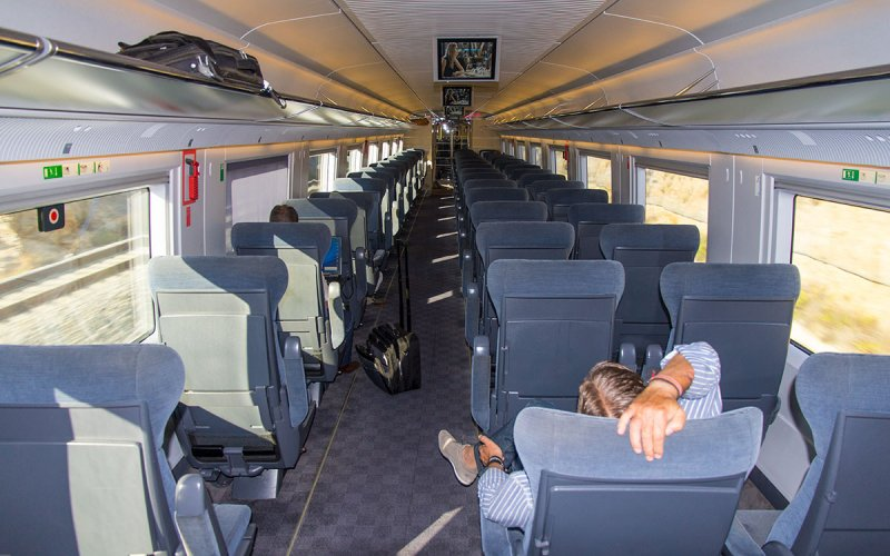 AVE | Trains in Spain | 1st class interior