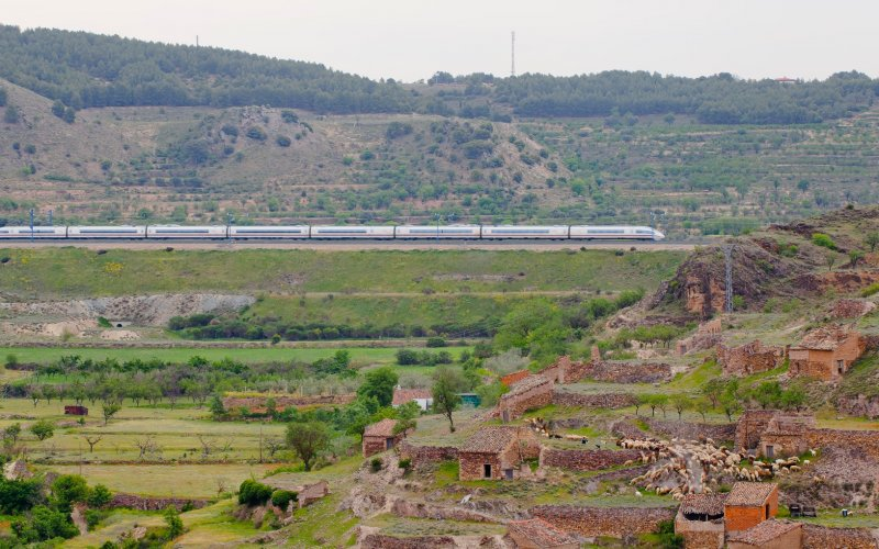 Unlimited travel on the Spain Pass - All train tickets and rail passes