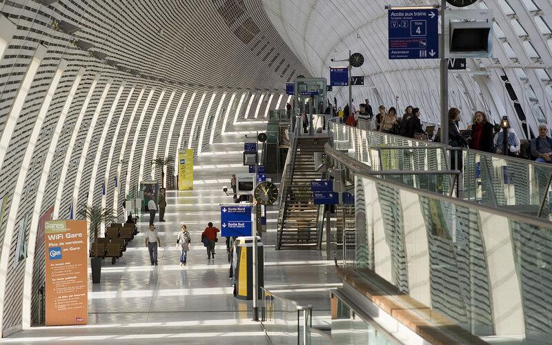 Arrive at Avignon TGV - All train tickets and rail passes