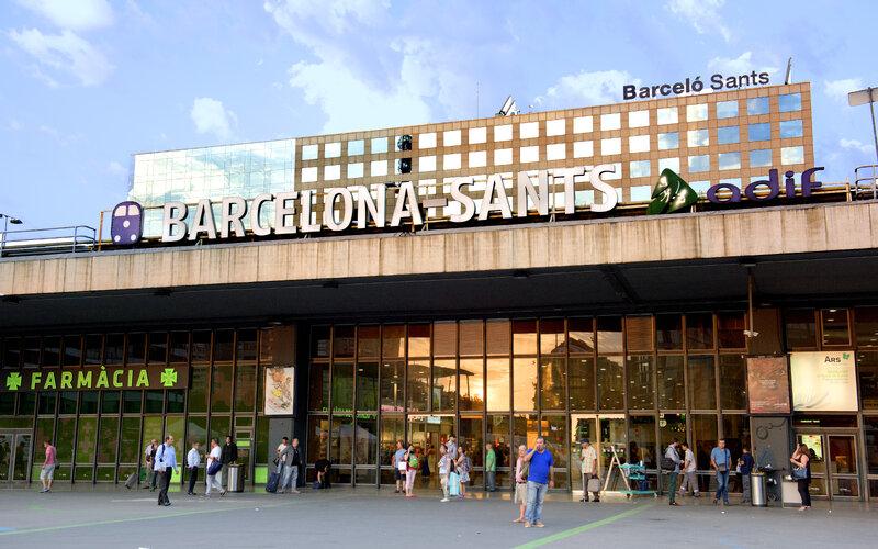 Train station Barcelona - Barcelona Sants