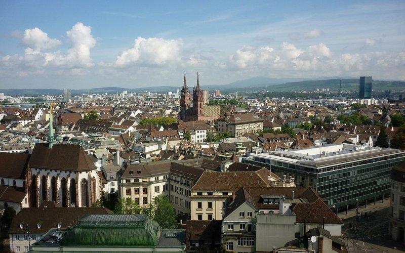 Basel by train