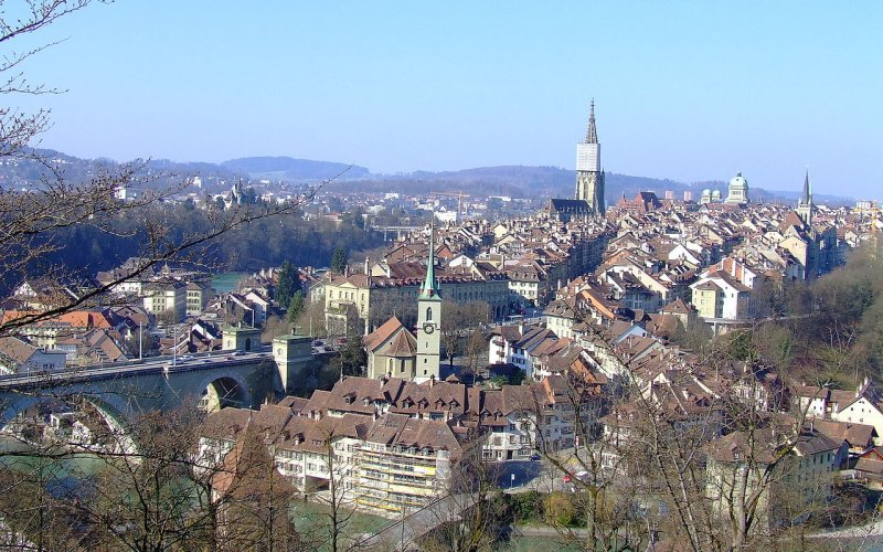 Trains to & from Bern - City Centre