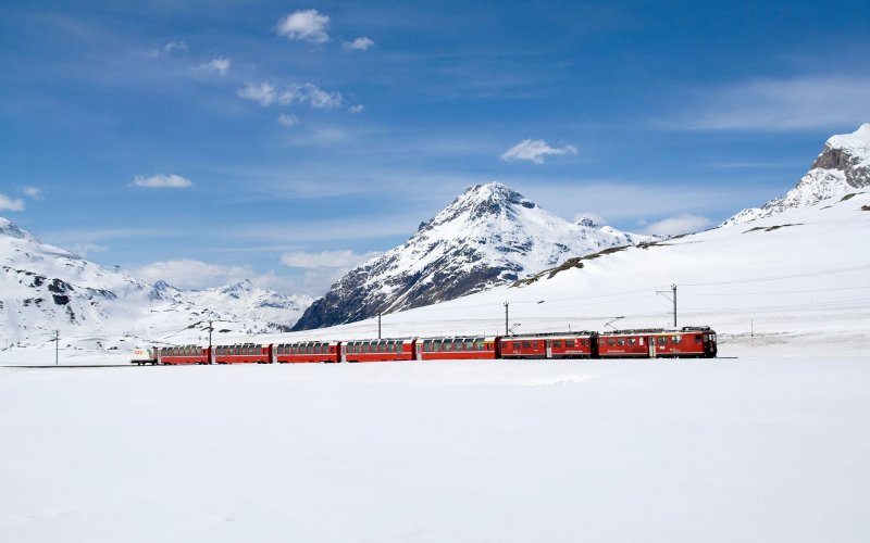 Swiss Travel Pass - Travel on the Bernina Express - All train tickets and rail passes