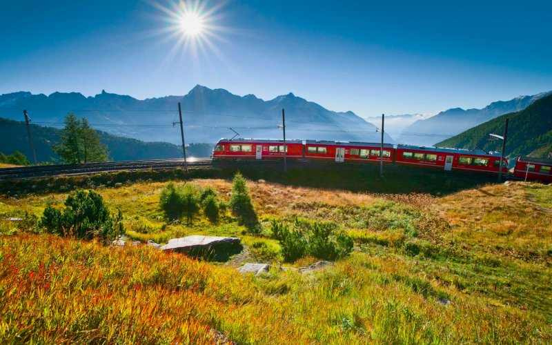 Trains from France to Switzerland