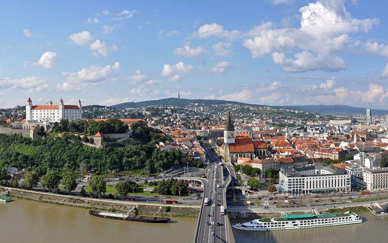 Train to Bratislava - All train tickets and rail passes