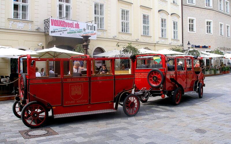 Trains to & from Bratislava | Bratislava tourist train