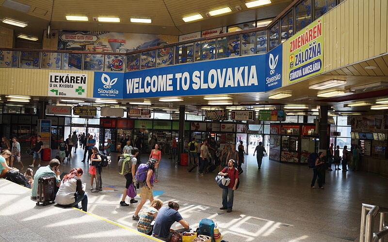 InterCity Slovakia   Trains in Slovakia   Bratislava central station
