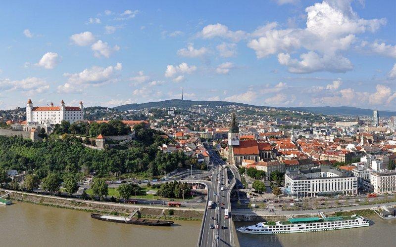 Trains Prague to Bratislava | River Danube