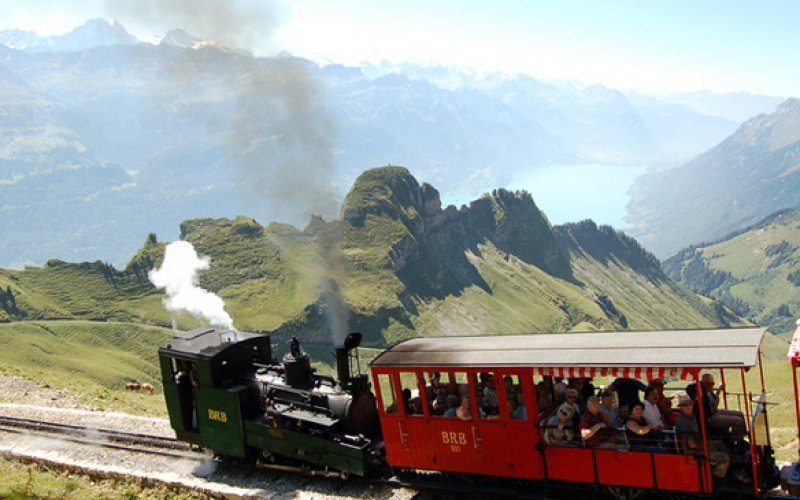 Brienzer Rothorn - Panoramic Train Switzerland - Swiss Travel Pass