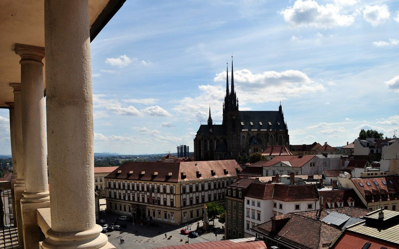 Trains to & from Brno | Brno city view