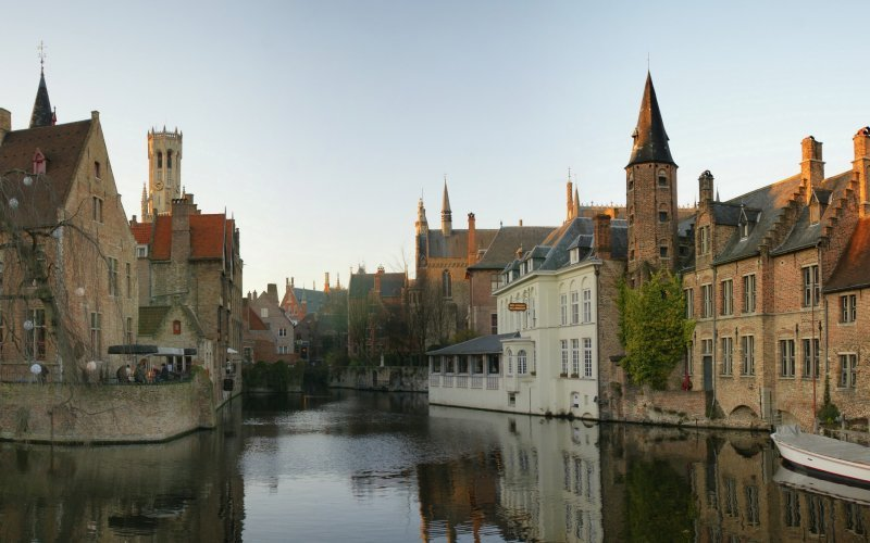Bruges by train