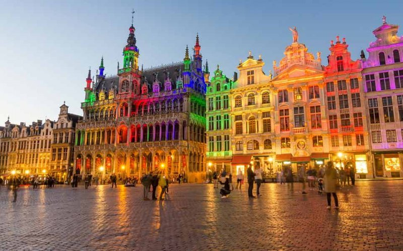 Cheap Train Tickets from Brussels to Ghent - Grote Markt Brussels