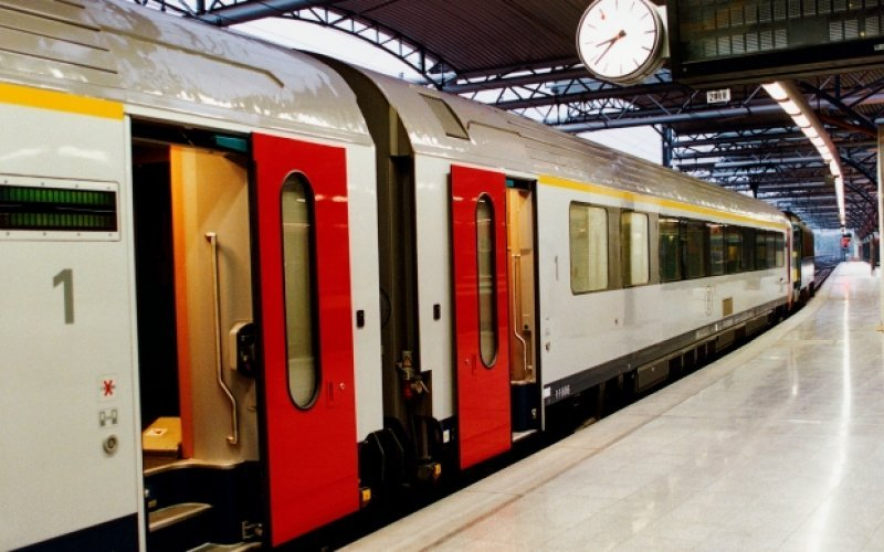 Train Reservations in Belgium | All Reservations & Passes | Train ready for departure from Brussels Bruxelles Railway station