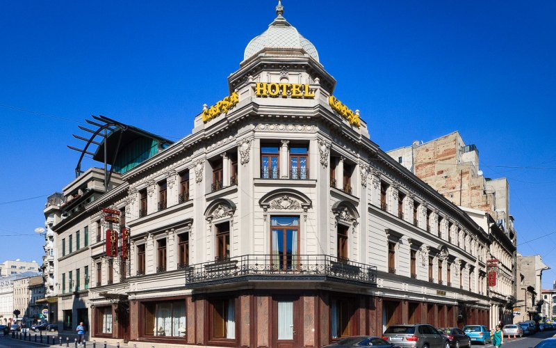 Trains to & from Bucarest | Streets of Bucarest, local architecture