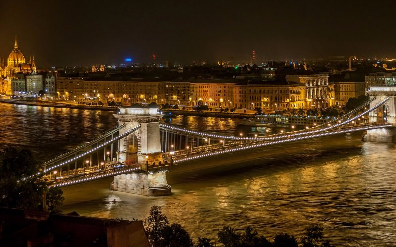 Trains to & from Budapest | River Danube