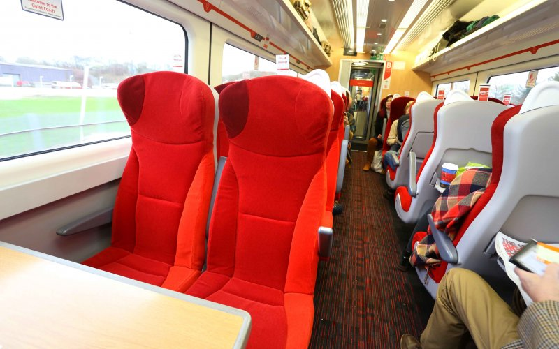 Trains York to London - Virgin Trains - Cheap Train Tickets UK  - 2nd class