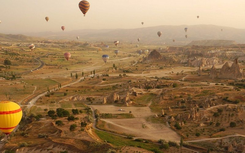 Discover Turkey by train | Visit Cappadocia by train
