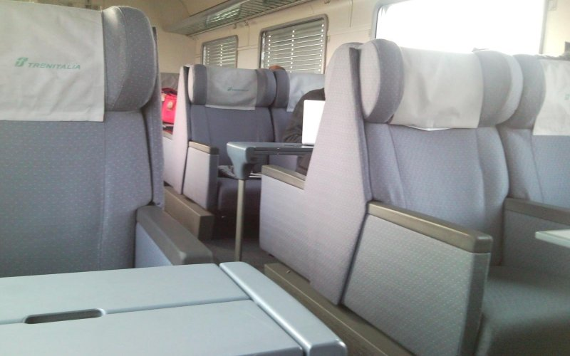 InterCity Italy | Trains in Italy | First class interior