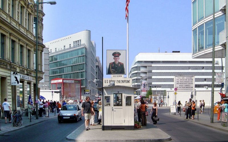 Trains to & from Berlin | Checkpoint Charlie