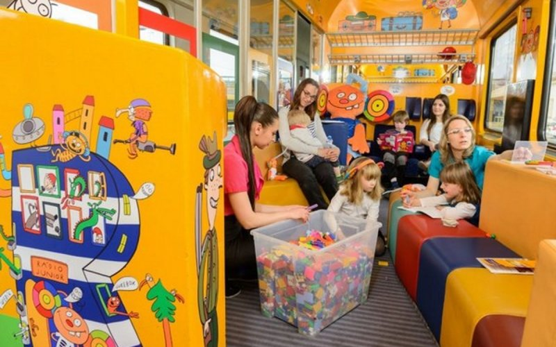 RegioJet   Child area in Standard class