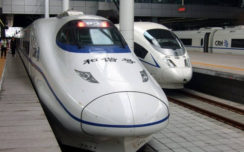 China by train | Chinese high-speed trains