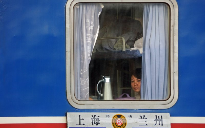 Train Travel in Asia | Ride the train from Shanghai to Lan Zhou
