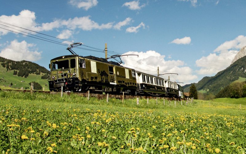 Chocolate Train - Panoramic Train Switzerland - Swiss Travel Pass