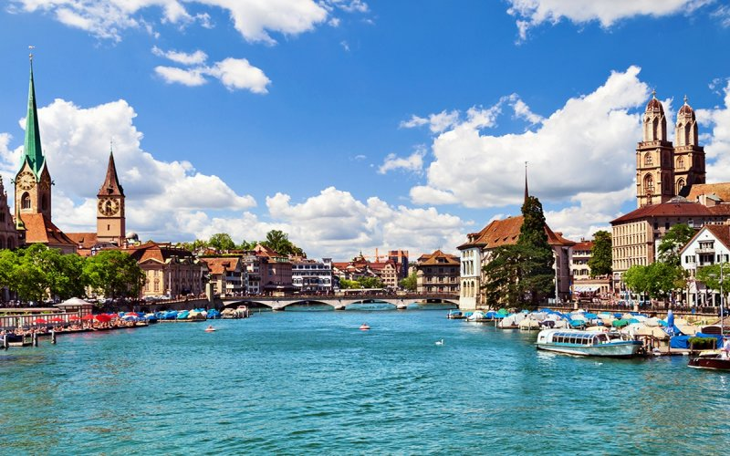 Swiss Travel Pass - Visit Zurich by train - All train tickets and rail passes