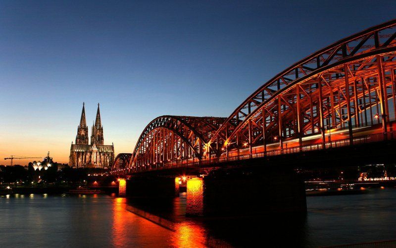 Cologne by train
